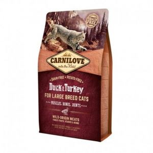 Carnilove Large Breed Muscles, Bones, Joints Duck & Turkey - Sac 6 kg