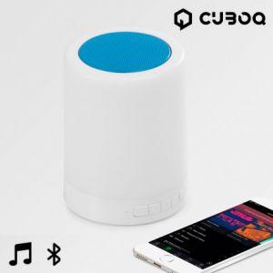 CuboQ Mood Light - Enceinte Bluetooth avec LED
