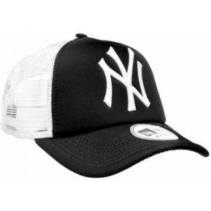 A New Era Casquette Clean Trucker MLB NY Noir/Blanc