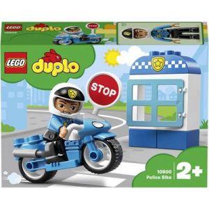 Lego DUPLO Ma Ville - 2019 - La moto de police - 10900