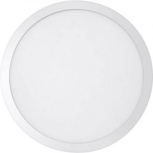 Ledvance PLANON ROUND Dalle LED Montage en Surface   Applique / Plafonnier   Blanc   Diamètre 40cm   28 Watts - 2550 Lumens   Blanc Froid 4000K