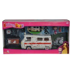 Simba Toys Ambulance Masha et Michka