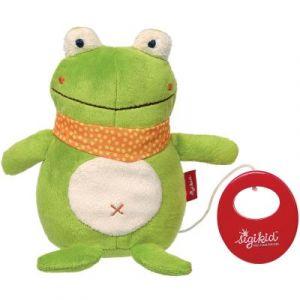 Sigikid Peluche musicale grenouille (17 cm)
