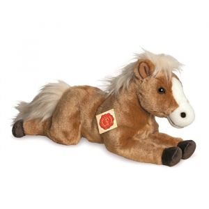 Hermann Teddy Peluche Cheval couché - 39 cm