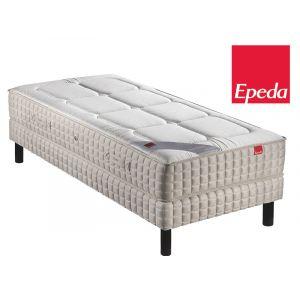 Epeda Ensemble Matelas YUCCA 600 ressorts Confort Medium 90x200