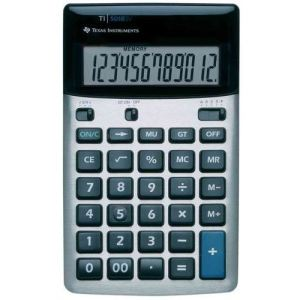 Texas instruments TI-5018 SV - Calculatrice de bureau