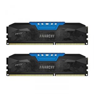 PNY MD8GK2D3186610AB - Barrette mémoire Anarchy DDR3 8 Go (2 x 4 Go) DIMM 240 broches