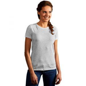 Promodoro T-shirt Premium Femmes, XS, gris clair chiné