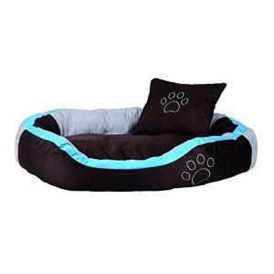 Trixie Lit Bonzo pour chien (marron / turquoise)
