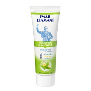 Email diamant Dentifrice Tradition Blancheur menthe citron camomille