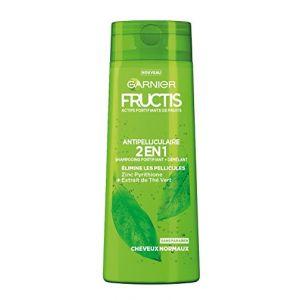 Garnier Fructis Color Resist Shampooing Fortifiant Antipelliculaire 2-en-1 pour Cheveux Normaux 250 ml