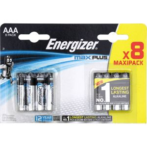 Energizer Pile LR03 (AAA) alcaline(s) Max Plus 1.5 V 8 pc(s)