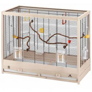 Ferplast Giulietta 6 Cage Oiseau en Bois 81 X 41 X 64 cm Noir