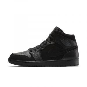 Nike Chaussure Air Jordan 1 Mid pour Homme - Noir - Taille 40