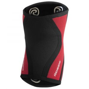 Rehband Protecteurs articulations Rx Knee Sleeve 3 Mm - Black / Red - Taille M