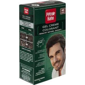 Pétrole Hahn Coloration crème châtain N°40 pour homme