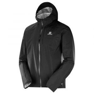 Salomon Veste de Sport pour Homme, Bonatti WP, Mélange synthétique, Noir, Taille: XL, L40380300