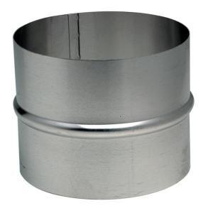Ten 454080 - Raccord en aluminium pour gaine accordéon diamètre intérieur 80mm