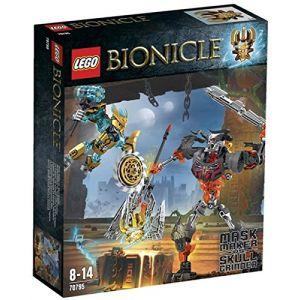 Lego 70795 - Bionicle : Le créateur de masque contre le crâne broyeur