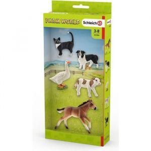 Schleich 42386 - Assortiment animaux Farm World