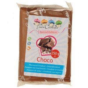 FunCakes Pâte à sucre goût Chocolat 250g