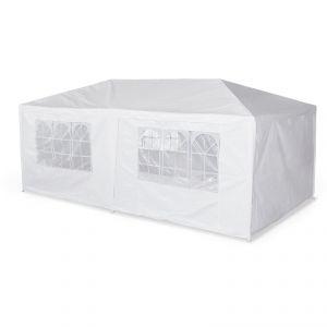 Alice's Garden Aginum - Tente/Barnum de réception en acier et toile polyester 3 x 6 x 2,60 m