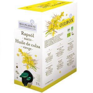 Bio planète Oil In Box - Huile de colza vierge 3 L Bio