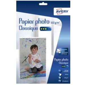 Avery-Zweckform Papier photo Avery 50 Photos brillantes A4 160g/m²