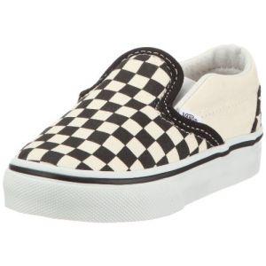 Vans Chaussures enfant CLASSIC SLIP ON KIDS blanc - Taille 18,19,20,21,24,26
