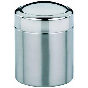 Kela 21381 - Poubelle cosmétique Ano en inox (1,5 L)
