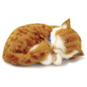 Perfect Petzzz Peluche interactive Chat Tabby 25 cm