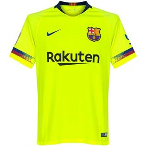 Nike Maillot de football 2018/19 FC Barcelona Stadium Away pour Homme - Jaune Taille