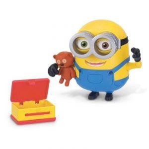 Mondo Figurine Bob et son ours en peluche Minions