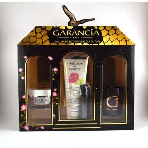 Garancia Mystérieux Mille et Un Jours - Coffret crème de jour anti-âge, démaquillant, crème en deux coups de baguette et bougie