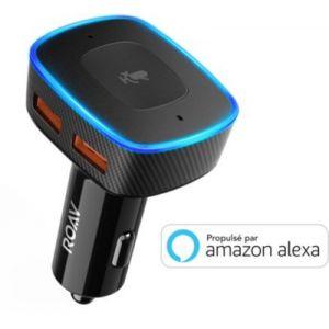 Roav Viva connecté avec Alexa
