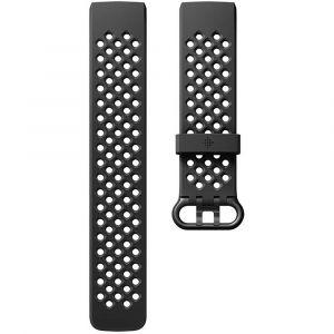 Fitbit Bracelet de rechange FB168SBBKS Taille=S noir