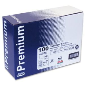 Gpv 100 enveloppes Premium 16,2 x 22,9 cm