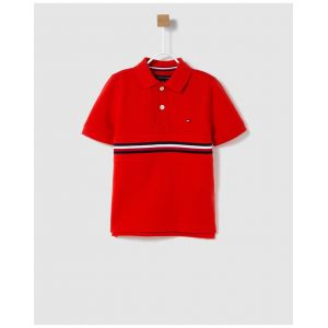 Tommy Hilfiger Polo manches courtes 12-16 ans Rouge - Taille 12 ans;14 ans;16 ans
