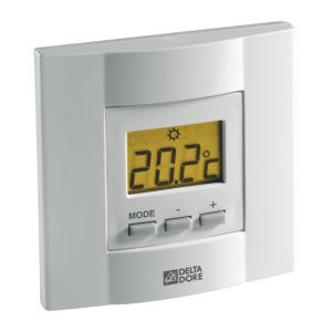 Delta Dore Thermostat programmateur d'ambiance à touches Tybox 53 radio