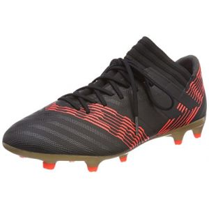 Adidas Nemeziz 17.3 FG, Chaussures de Football Homme, Multicolore (C Black C Black S O L Re D), 43 1/3 EU