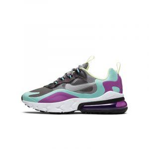 Nike Chaussure Air Max 270 React pour Enfant plus âgé - Gris - Taille 35.5 - Unisex