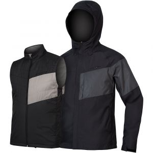 Endura Urban Luminite II Veste 3 En 1 Homme, black XL Vestes imperméables