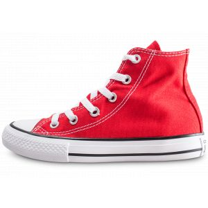Converse Chuck Taylor All Star Hi toile Enfant-33-Rouge