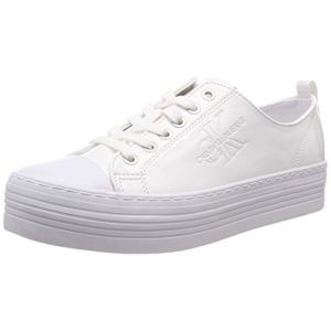 Calvin Klein Jeans Zolah Patent, Sneakers Basses femme - Blanc