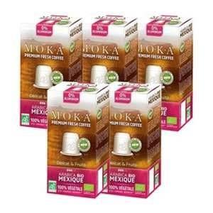 10 Capsules Mexique Biodégradable compatibles Nespresso - Moka