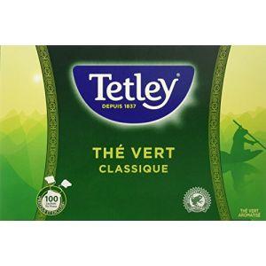 Tetley Thé Vert Classique Tir Press sans Protect