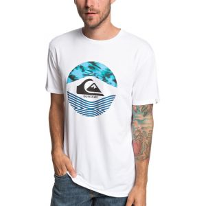 Quiksilver Stomped On - T-shirt manches courtes Homme - blanc M T-shirts