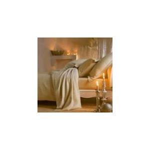 Blanc des vosges Divine - Drap plat en coton (240 x 300 cm)