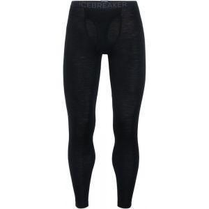 Icebreaker Mens 175 Everyday Leggings w Fly Black Sous-vêtements techniques