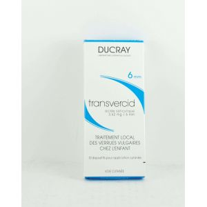 Ducray Transvercid - Acide salicylique 3.62mg/6mm